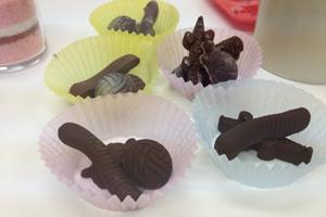 チョコレートゴム型