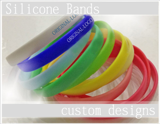 silicone bands custom designs