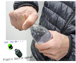 silicone good idea!Plastic Bottle Opener