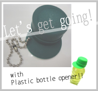 good item!Plastic Bottle Opener