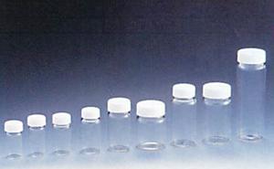 硝子製スクリュー管瓶