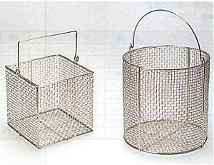 スレンレス角型・丸型洗浄カゴ(SUS304製)
