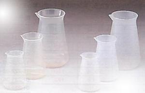 コニカルビーカー(TPX®/PP/ガラス製)
