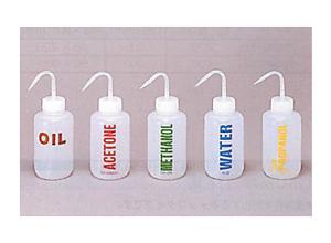 ネームイン洗浄瓶〈PE製〉