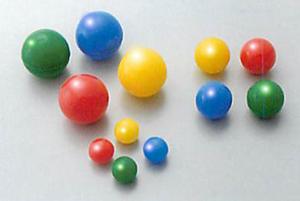 カラーポリエチレン球