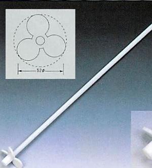 テフロンRプロペラ式撹拌棒<PTFE製>