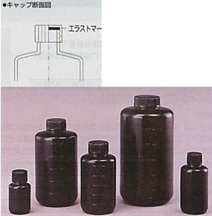 Jボトル黒色細口瓶/広口瓶(遮光)