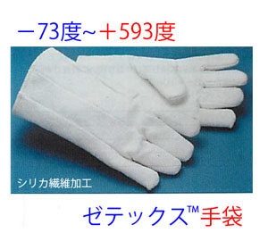 ゼテックス<SUP>TM</SUP>手袋