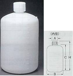 PFA回転成型大型細口瓶