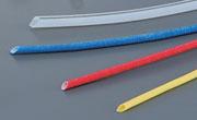 電圧用ガラス編組チューブ各種