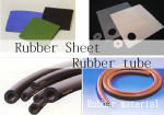 Rubber sheet Rubber tube Rubber material