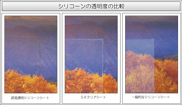 超透明樹脂シート素材比較