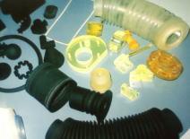 金型不要で成形した製品例:ジャバラも製作可能です。